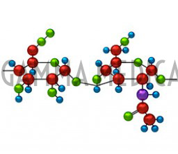 Acido ialuronico in 3d